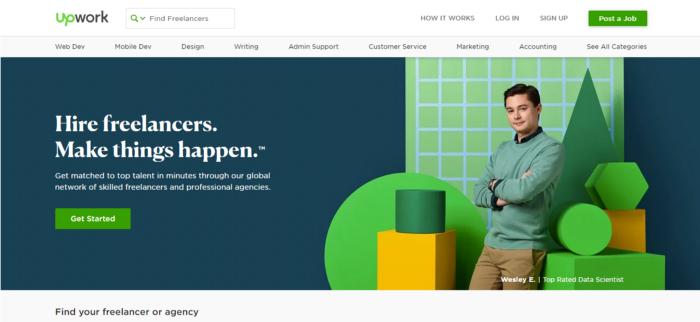 海外ノマド仕事サイト アップワーク